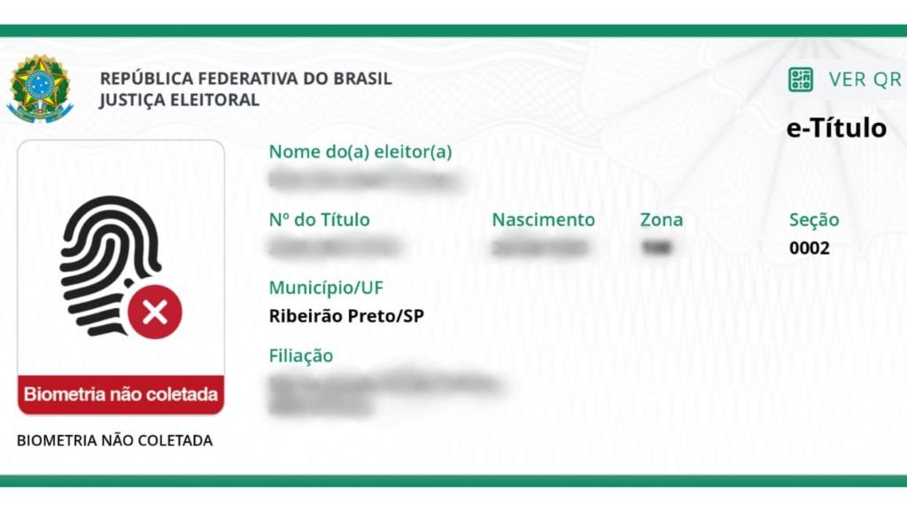Aplicativo e-Título substitui o documento de papel (Reprodução / ACidade ON) - Foto: ACidade ON - Ribeirão Preto