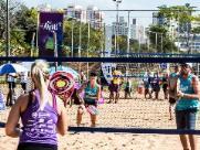 Lagoa terá campeonato de tênis na areia neste fim de semana