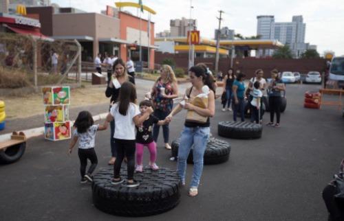 Evento ofereceu ideias para reciclagem, ensinamentos sobre descarte de óleo e plantação para população - Foto: Weber Sian / A Cidade