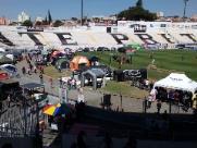Torneio reúne 67 cães de polícias civis e guardas em estádio