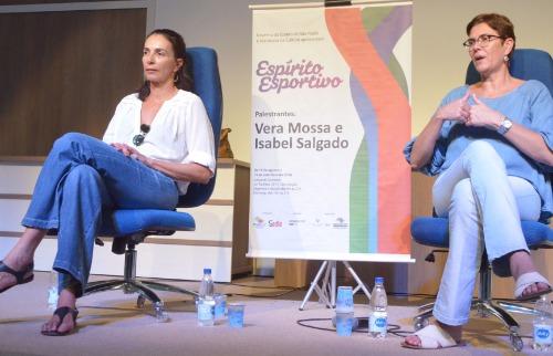 Divulgação - Ex-atletas durante a apresentação em Araraquara (Tetê Viviani/Prefeitura)