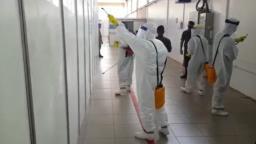Exército realiza sanitização de hospitais e ruas de Araraquara