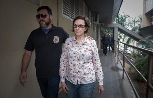 Weber Sian / A Cidade - Maria Lúcia Pandolfo está presa desde maio deste ano em Tremembé
