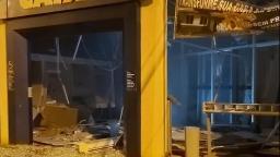 Bandidos explodem banco durante a madrugada na região
