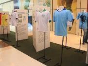 """Exposição """"Os Grandes Clubes de Nossa Terra"""" é destaque no Shopping Jaraguá"""