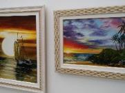 Biblioteca Comunitária da UFSCar apresenta exposição de pinturas paisagísticas