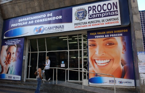 Fachada do Procon-Campinas - Foto: Prefeitura de Campinas