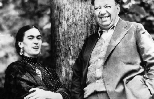 O casal Frida Khalo e Diego Rivera - Foto: Keystone-France/Getty