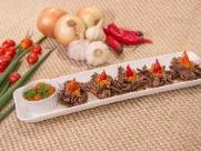Batata doce é ingrediente principal de petisco no Comida di Buteco
