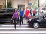 Pedestres sentem dificuldade em atravessar ruas do Centro