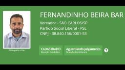De Zé Bonitinho a Fernandinho Beira Bar: veja nomes curiosos de candidatos em São Carlos