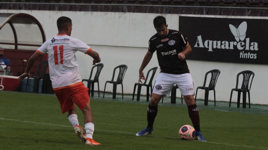 Ferroviária e Atibaia ficaram no empate sem gols (Foto: Divulgação/Jonatan Dutra/AFE) - Foto: Divulgação/Jonatan Dutra/AFE