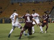 A ruindade do São Paulo pode rebaixar o Botafogo