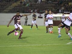 Ferroviária e Botafogo se enfrentaram na Arena da Fonte nesta segunda (Beto Boschiero/AFE) - Foto: Beto Boschiero/AFE