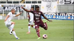 Ferroviária empata com o Santos em confronto pelo Paulistão