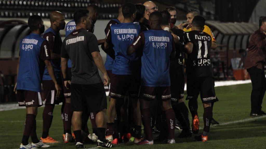 Ferroviária supera o Bangu em duelo na Arena da Fonte (Foto: Divulgação) - Foto: Divulgação