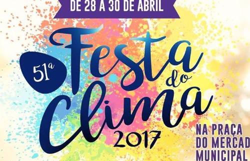 Divulgação - Festa do Clima tem shows gratuitos (Foto: Divulgação)