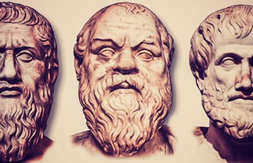 Platão, Sócrates e Aristóteles - Foto: Divulgação