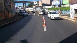 Força-tarefa faz bloqueios em Araraquara para fiscalizar lockdown