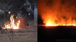 FOTOS: Incêndio assusta moradores na região do Santa Mônica