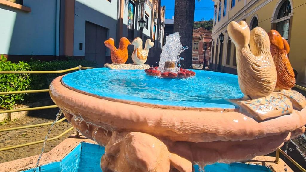 Fonte do Eterno Amor é atração turística romântica em Socorro (Divulgação) - Foto: Divulgação