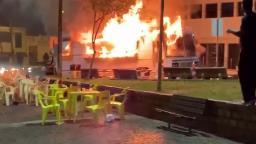 Food truck pega fogo na região central de Bebedouro