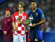 Luka Modric é eleito melhor jogador da Copa do Mundo