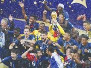 Sete franceses que estiveram em Ribeirão são campeões