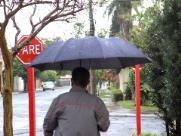 Chuva chega e fica até domingo em Araraquara