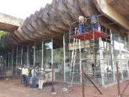 Prefeitura começa obra de reforço nas fundações do Teatro Municipal
