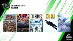 Mais novidades do mês de março no XBOX Game Pass
