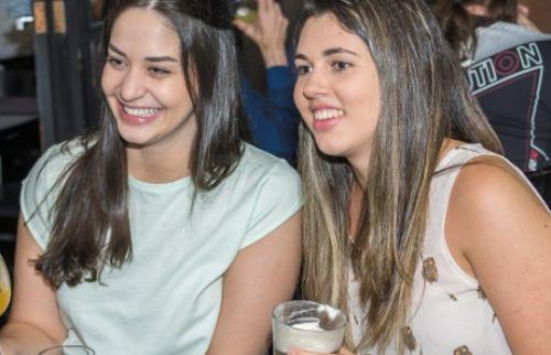 Ana Laura Ferronato e Manuela Ferrari - Foto: Luiz Cervi / Especial