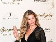 Gisele Bündchen diz que nariz grande ajudou na carreira de modelo