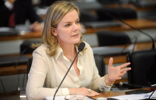 Divulgação / Agência Senado - Gleisi Hoffmann nega as irregularidades