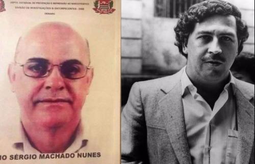 Mário Sérgio, o goiano, era sócio do narcotraficante Pablo Escobar - Foto: Divulgfação / Polícia Civil / Reprodução
