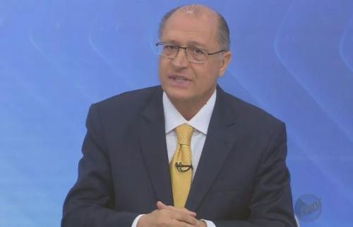 EPTV - Governador Geraldo Alckmin: crítica a muitas siglas de partidos