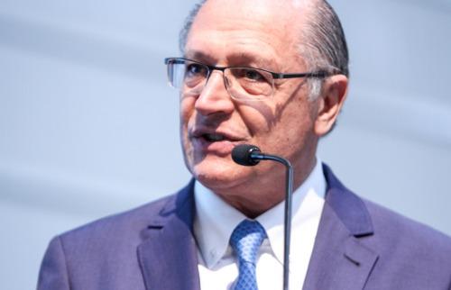 Governador Geraldo Alckmin participa de inauguração da Randon em Araraquara (Foto: Amanda Rocha) - Foto: Da reportagem