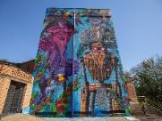 Mural em homenagem a Ribeirão chama atenção e ganha destaque
