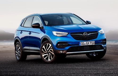 Divulgação - Opel Grandland X é testado na Alemanha