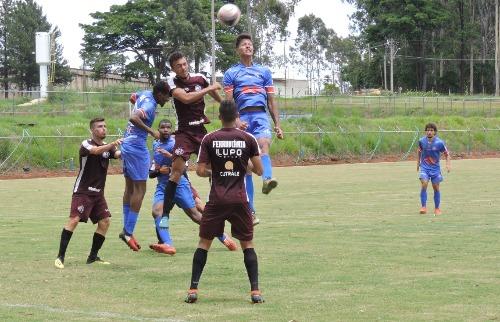 Lobão enfrentou o Sub-20 afeano em novembro; agora, será a vez do time profissional (Foto: Gustavo Curvelo/Divulgação) - Foto: Foto: Gustavo Curvelo/Divulgação