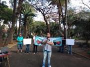 Grupo de Araraquara participa da marcha