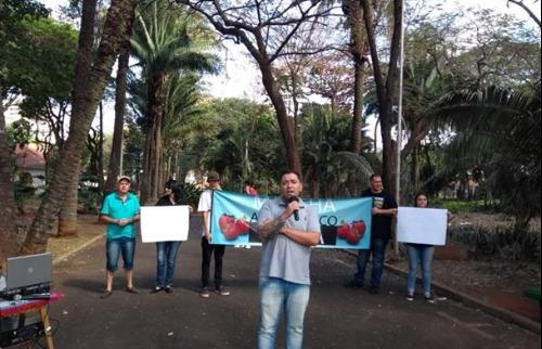 Grupo de Araraquara participa da marcha 'Agrotóxico mata' - Foto: ACidade ON - Araraquara