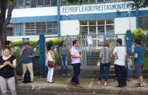 ACidade ON - Araraquara - Grupo de candidatos de diversas cidades encontrou portões fechados