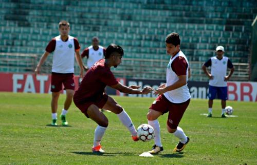 Crédito: Gabriel Ferrari/GuaraniPress - Guarani treina para enfrentar o Paraná. Crédito: Gabriel Ferrari/GuaraniPress