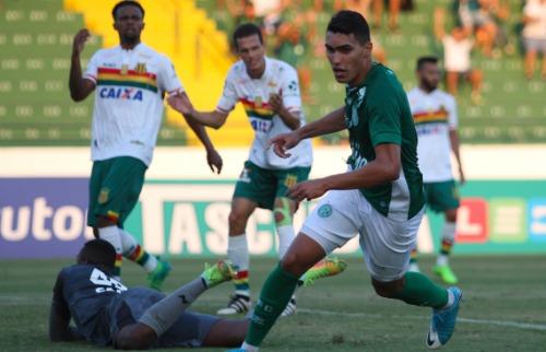 Denny Césare/Código 19 - Guarani vence a primeira na Série B do Brasileiro. Foto: Denny Césare/Código 19