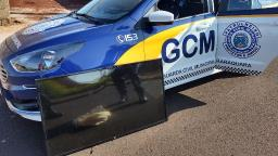 Guarda Municipal recupera televisor roubado após denúncia anônima