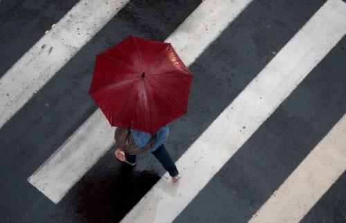 Ribeirão-pretanos devem andar com guarda-chuva a tiracolo - Foto: Weber Sian / A Cidade