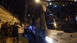Guerreiras chegam a Araraquara e são recebidas por torcedores