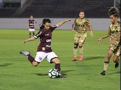Guerreiras perdem invencibilidade no torneio e se afastam as primeiras colocações do grupo (Beto Boschiero/AFE) - Foto: Beto Boschiero/AFE