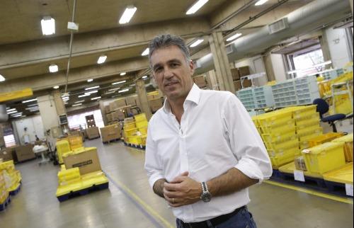 O presidente dos Correios, Guilherme Campos Júnior - Foto: Murilo Corte / ME